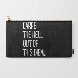 Carpe Diem ///www.pencilmeinstationery.com Carry-All Pouch