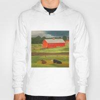 farm Hoodies featuring Farm by ArtSchool