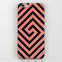 greek iPhone & iPod Skins featuring Peachy Greek by Lyle Hatch