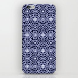 blue dandy chinoisse iPhone Skin