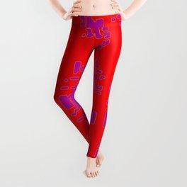 jitter, red violet, 3 Leggings