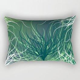 Green Rootz  Rectangular Pillow