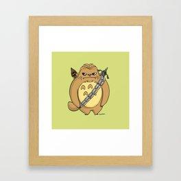 Chewbacorro Framed Art Print