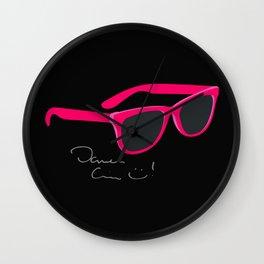Darren Criss Glasses Wall Clock