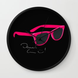 Darren Criss Glasses Wall Clock