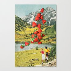 Strawberry Avalanche Canvas Print