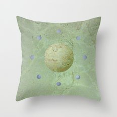 new dawn, with eight blue moons Throw Pillow