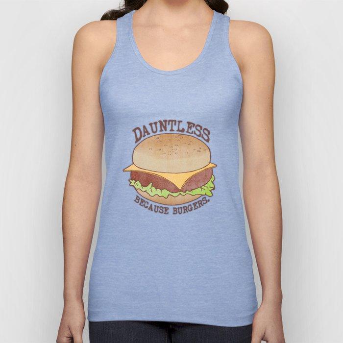 Dauntless - Because Burgers Unisex Tank Top
