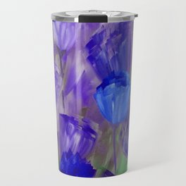 Breaking Dawn in Shades of Deep Blue and Purple Travel Mug