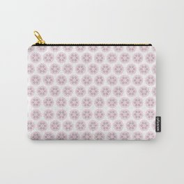 Pink Puff Pattern Carry-All Pouch