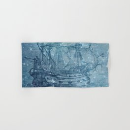 Ghost Ship Hand & Bath Towel