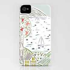 sailboats Slim Case iPhone (4, 4s)