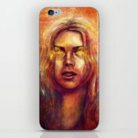 bad wolf iPhone & iPod Skins featuring Bad Wolf by Five-Oclock
