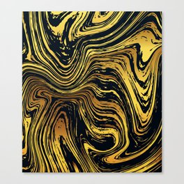 Swirled & Whirled Canvas Print