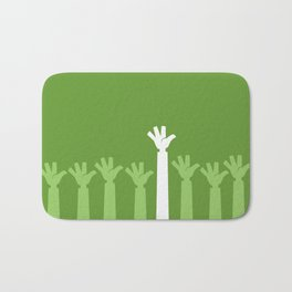 Hands Up Bath Mat