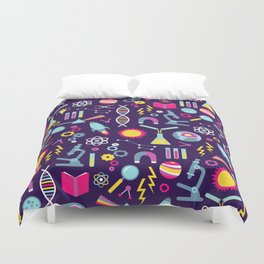 Science Studies Duvet Cover