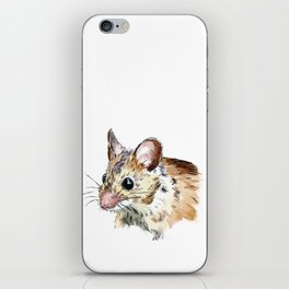 Little Brown Mouse iPhone Skin