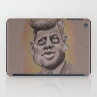 jfk iPad Cases featuring JFK by chadizms