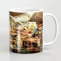 nirvana Mugs featuring Nirvana by 2700art