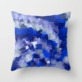 little sqares and rectangles pattern -1- Throw Pillow