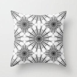 Geometric Abstract Shape Throw Pillow