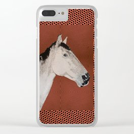 Stable love Clear iPhone Case