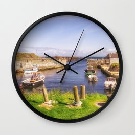 The Little Harbour Wall Clock