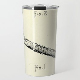 Firemans Axe Patent Print- 1940 Travel Mug