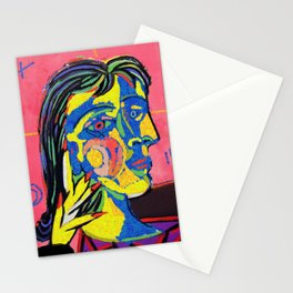 Dirty Picasso Stationery Cards