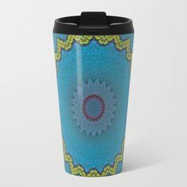 Basal Color Mandala 3 Travel Mug