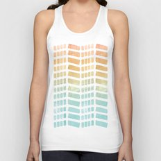 Gradient Boho Pattern Unisex Tank Top
