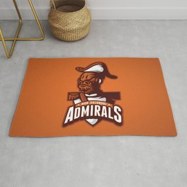 Mon Calamari Admirals on Orange Rug