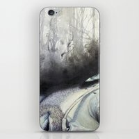 winchester iPhone & iPod Skins featuring Sam Winchester by Amanda Kontakos