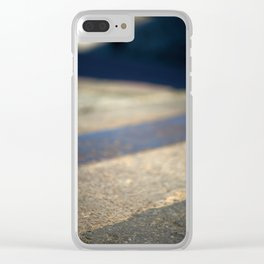 Abstract pavement Clear iPhone Case