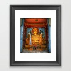 Happy Buddha Thailand Framed Art Print