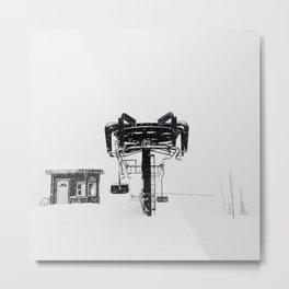 Top Station Metal Print