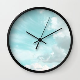 Head in the clouds #buyart #decor #freshair Wall Clock