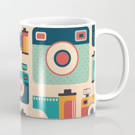 Film Rolls and Cameras Coffee Mug