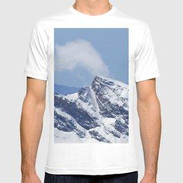 """Veleta mountain"". Aerial photography T-shirt"