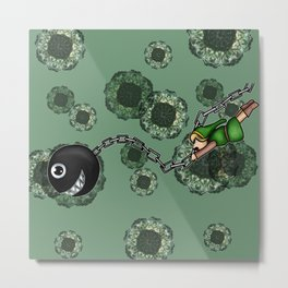 Link and Bow-Wow Metal Print