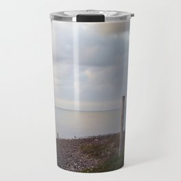 Galveston Bay at dusk Travel Mug