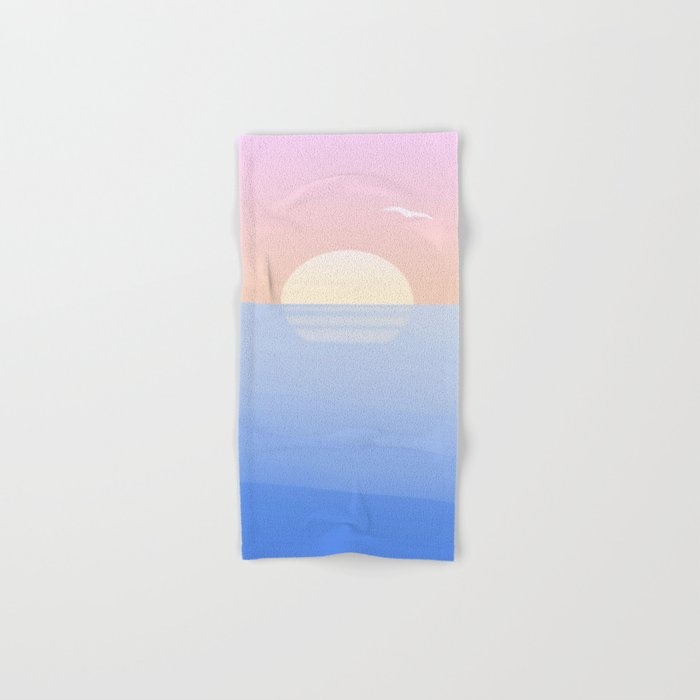 Sunset, funset Hand & Bath Towel