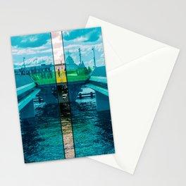Inner Harbour Bridge (Inderhavnsbroen), Copenhagen, Denmark Stationery Cards