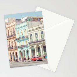 Street Life - Havana Cuba Travel Photography Stationery Cards