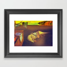 The Persistence of Memory  Framed Art Print