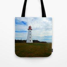 Point Prim Lighthouse and Shore Tote Bag