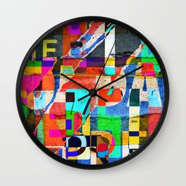 Colage 1 Wall Clock