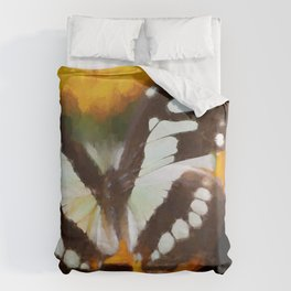 Summer Butterfly Duvet Cover