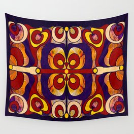Celebration Of Sanity Abstract Bliss Art By Omashte Wall Tapestry