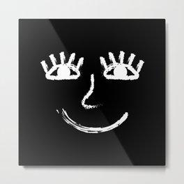 Smile Always Metal Print